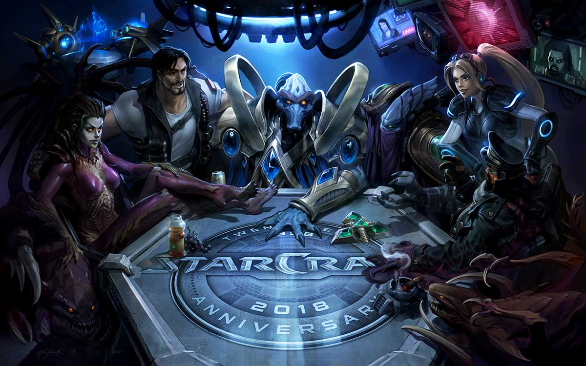 Celebrate 20 Years of StarCraft